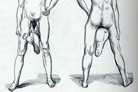 talán egy embernek két pénise van