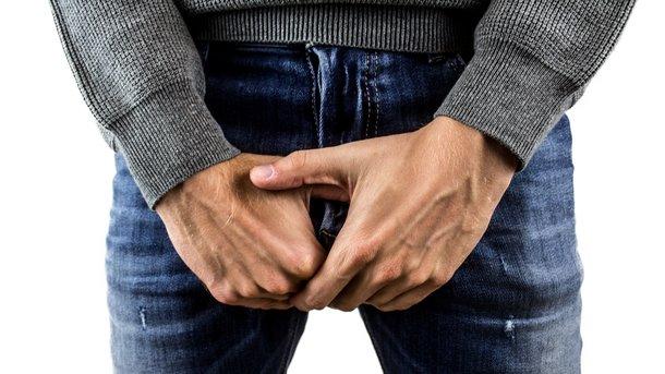 felálló állapotban a pénisz hajlított