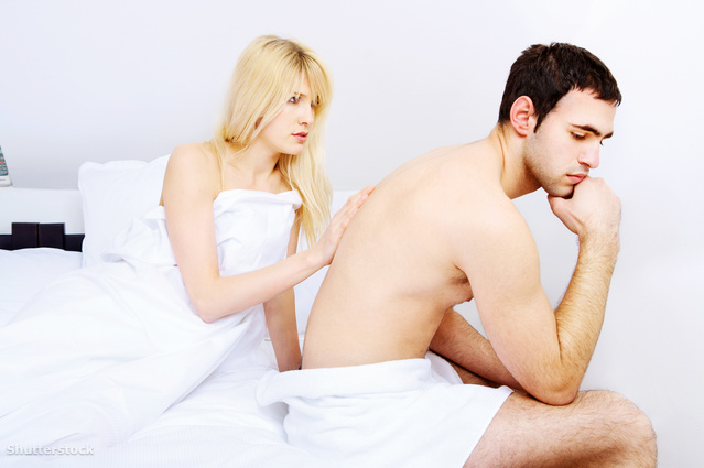 kém erekció pénisz harapás
