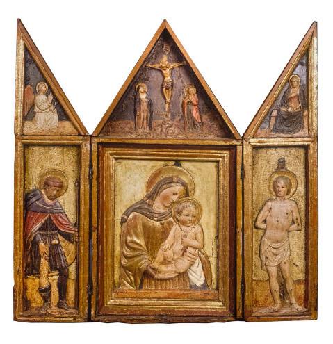 erekció trittico-val