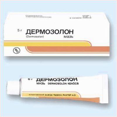Synthomycin kenőcs - Bőrgyulladás