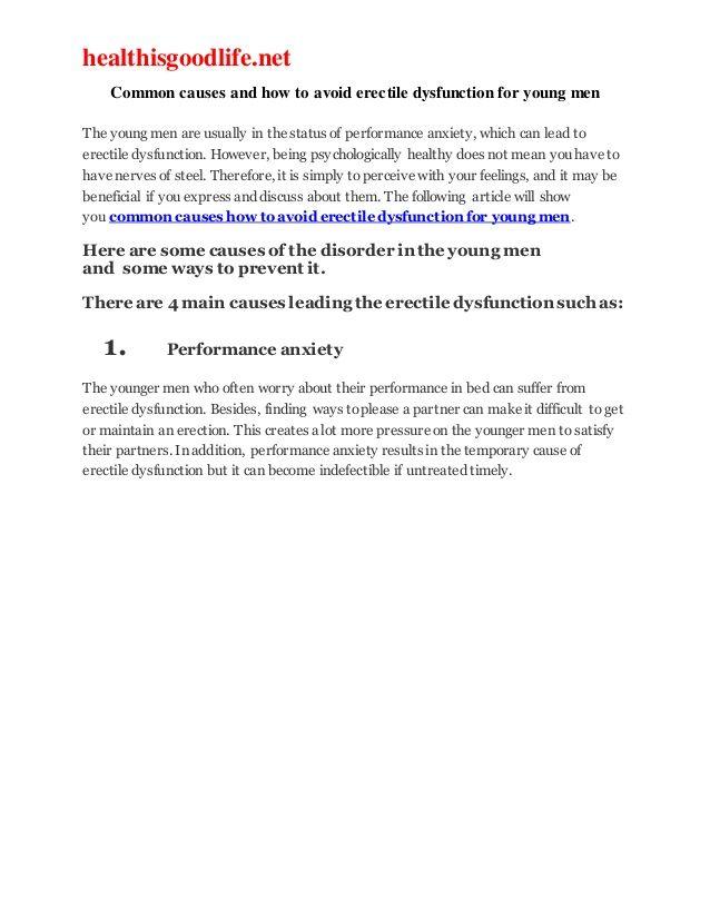 Az impotencia lehetséges szervi oka | BENU Gyógyszertárak