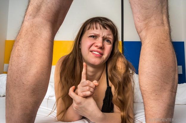 merevedés van, de a pénisz puha
