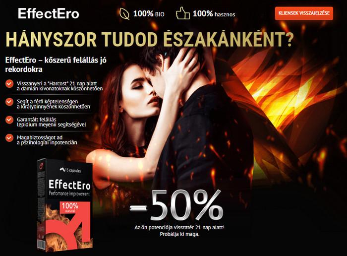 az erekciós tabletták mellékhatásai gyenge erekció és korai magömlés okai