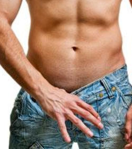 férfi test és a pénisz