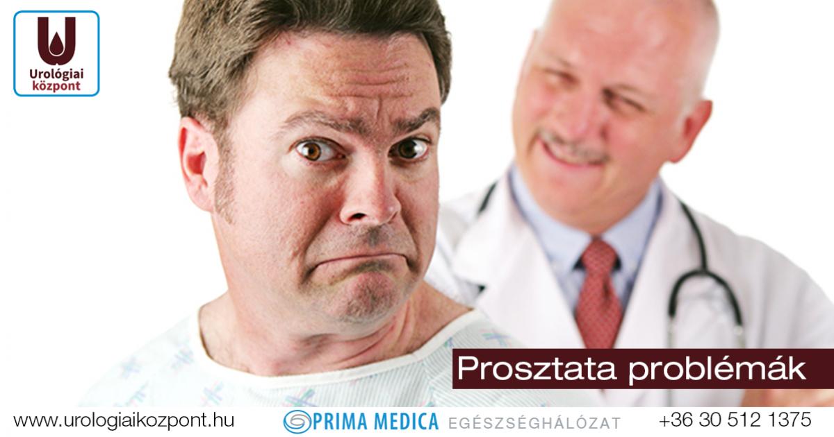 A prosztatagyulladás tünetei