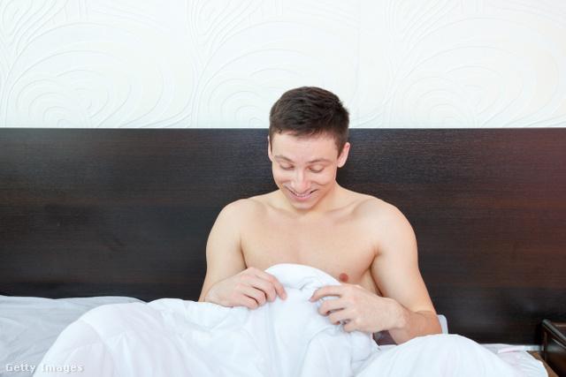 reggeli merevedés egy tinédzserben