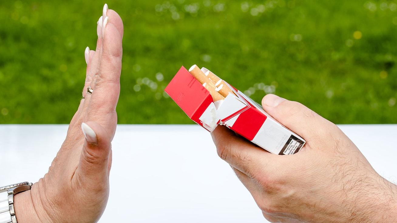 a dohányzásról való leszokás javult